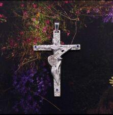 NEW MODEL!!! CROIX JOHNNY HALLYDAY 5 x 3.5 cm !!! + CORDON 3 MM!!!