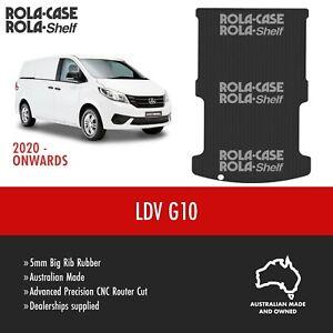 LDV G10  Genuine Van Flooring 5mm Big Rib Van Cargo Rubber Mat CNC Cut Anti Slip
