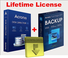 Acronis Disk Director 12 & Acronis True Image 2019 (boot)⬇️ Lifetime key  ⬇️