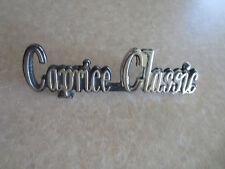 Original Chevrolet Caprice Classic car emblem / badge