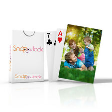 Personalised Playing Cards with using one image