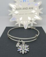 Alex and Ani Silver BLACK FRIDAY 2017 SNOWFLAKE New W/Tag Card