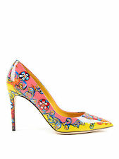 Dolce & Gabbana Carretto Siciliano Print Pumps Heels, size 40 / UK7 - Brand new.