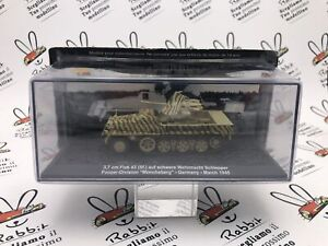 "Die Cast "" 1 1/2in Flak 43 Germany 1945 "" Scale 1/72"