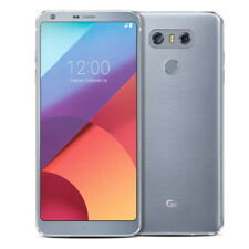 LG G6 H872 - 32GB - Ice Platinum (T-Mobile) Android 4G LTE 13MP Smartphone MINT