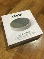 LEXON Oslo Energy - Station de Charge Sans Fil & Enceinte Bluetooth LA116