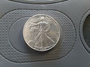 United States 1998 Fine Silver 1oz Dollar - About Uncirculated