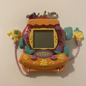 Littlest Pet Shop Digital Pets Butterfly Keychain Game - New Battery 2007