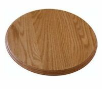 """Lazy Susan Amish Made Solid Oak 10"""" : 12"""", 14"""", 16"""", 18"""", 20"""", 24"""" Available!"""