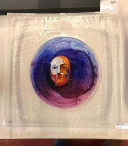 Kosta Boda Bertil Vallien -Dish HEAD II- lim. Ed. Glas Skulptur NEU unbenutzt