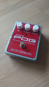 Electro-Harmonix micro POG - Octaver Pedal