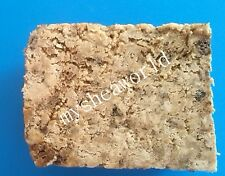 200g African Black Soap *made with Shea Butter*, Fair Trade