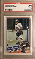 1984 1985 TOPPS Pat LaFontaine PSA 9 RC ROOKIE #96 Islanders Sabres