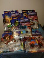 Hot Wheels 2021 Character Car Mix 1 - Masters of the Universe Complete Set of 5