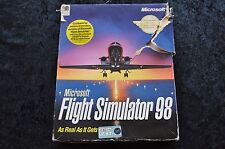 Microsoft Flight Simulator 98 Big Box PC Game