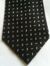 Cedarwood state black and grey polyester tie