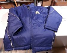 Vintage Retro Notre Dame Football Stadium Jacket Coat Starter Large