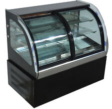 220v Commercial Refrigerated Bakery Cake Showcase Air Display Cabinet Case 35