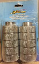 NEW Old School BMX Axle Pegs Silver 96011 Kent Bicycles Xfactor