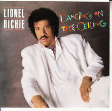 """LIONEL RICHIE Dancing On The Ceiling PICTURE SLEEVE 7"""" 45 record + jukebox strip"""