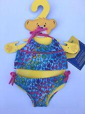Build a Bear Teddy Bear Clothing - Hearts Tankini Bikini Swim Bathing Suit NEW
