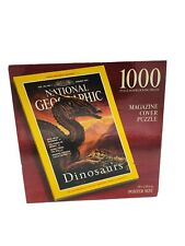 New National Geographic Magazine Cover 1000 pcs Dinosaurs Jigsaw Puzzle Sealed
