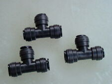 12mm Push fit Tee (Three Pack) water fitting.