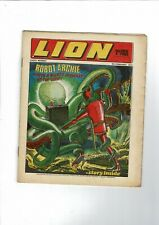 LION  COMIC - 6th February 1971   7d 2 New Pence
