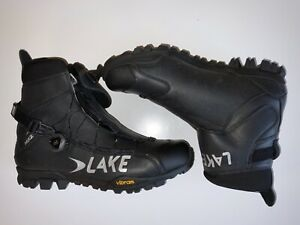 Lake Men's MXZ303 Winter Cycling Boots, Size 47, US13.