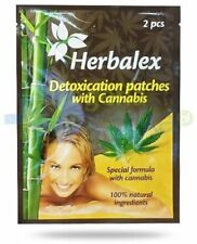 Herbalex Natural Detoxication foot patches with hemp 2pcs - Original