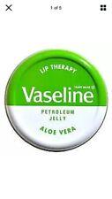 Aloe Vera Vaseline Lip Therapy Balm Petroleum Jelly 20g Pocket Size PotsFREEPOST