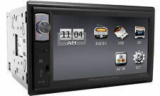 Power Acoustik PDR-654 6.5 2 DIN Touch Screen Monitor Digital Media MP3 Receiver