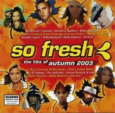 SO FRESH Hits Of Autumn 2003 Pink Kylie Minogue Bon Jovi Eminem Puddle Of Mud