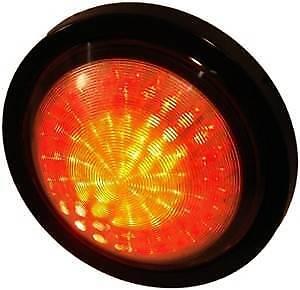 ORION - LED (12V) ROUND COMBO TRAILER LIGHT KIT- COMPL. (ROUND 7-Pin LARGE Plug)