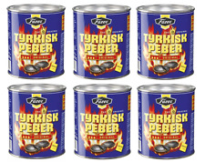 Fazer Tyrkisk Peber Licorice Candy 375g × 6 can 2.2kg Finland