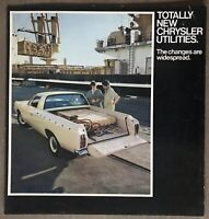 c1971-1973 Chrysler Utilities original Australian sales brochure - 6/2501013