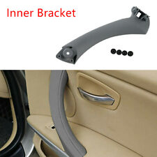 Car Door Panel Inner Bracket Pull Handle Trim For BMW 3-Series E90 E91 2004-2012