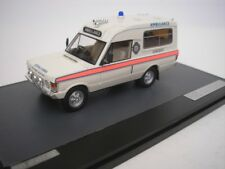 Range Rover Herbert LOMAS Somerset Ambulancia 1972 1/43 Matrix mx11701031