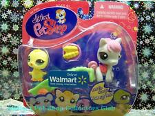 Littlest Pet Shop Walmart Excl CHICK lot #1096 HORSE #1097 Rare Retired NIB 2008