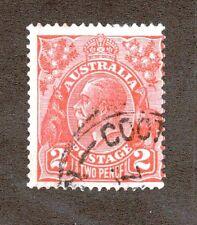 Australia Scott 28 - King George V 2 Pence.  Used. #02 AUS28d