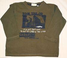 TOM TAILOR Jungen-Pullover mit Rundhals-Ausschnitt aus 100% Baumwolle
