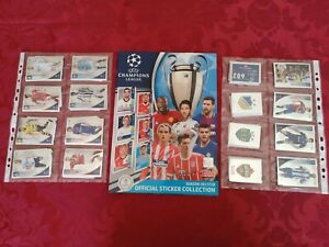 TOPPS CHAMPIONS LEAGUE 2017/2018 COMPLETE SET 604 + EMPTY ALBUM /MBAPPE ROOKIE