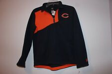 NFL Team Apparel Chicago Bears Sz Med 10/12 Youth Pull Over Fleece Shirt NWT
