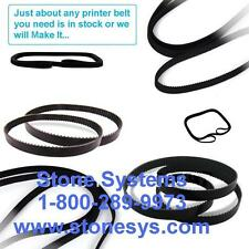 (Under $17 each)  Zebra P/N: P1006072 - Drive Belt ...... (3-PAK - Generic New)