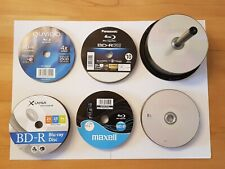 100 er Spindel Blu-Ray BD-R DL 50GB Double Layer + BD-R 25GB Rohlinge 90 Stück