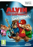 Nintendo Wii Spiel - Alvin and the Chipmunks: The Squeakquel mit OVP