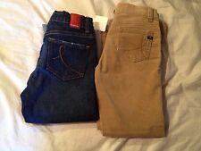NEW IT Capri Jeans / Beige Corduroys Girls 6 / 6x Lot Adj. Waist
