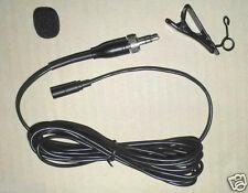 NEWmini Lavalier mike lapel clip mic Microphone for Sennheiser wireless bodypack
