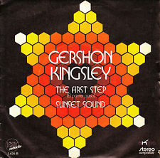 "7"" promo GERSHON KINGSLEY the first step el primer paso 45 SPAIN 1972 moog SYNTH"