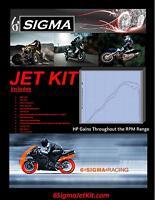 2004-10 Honda CBR125R CBR 125 R 6 Sigma Custom Carburetor Carb Stage 1-3 Jet Kit